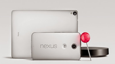 Google Unleashes Android Lollipop, New Nexus 6, 9