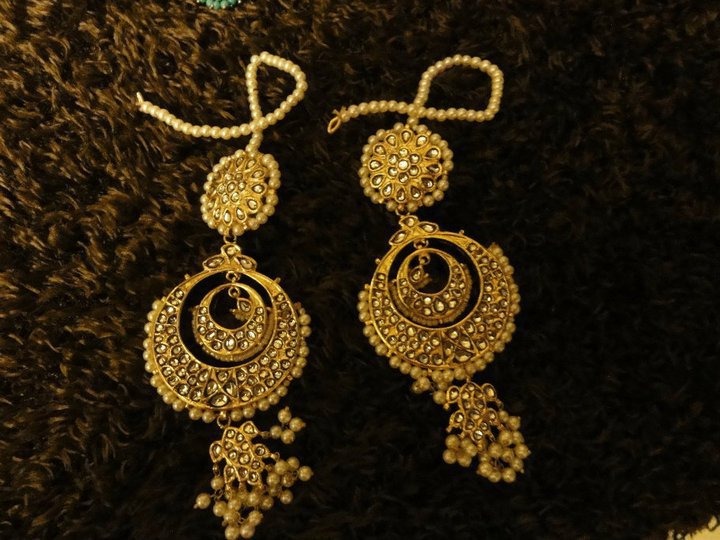 Beautiful elegant stylish Earings Collection july 2012