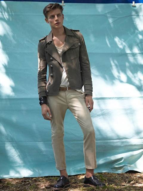 Balmain Spring-summer 2013 Men