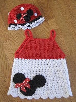 Free Crochet Patterns Disney : Estrella y Lalis..... de todo un poco: Vestidos de Mimi ...
