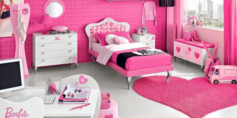 Girls barbie bedrooms