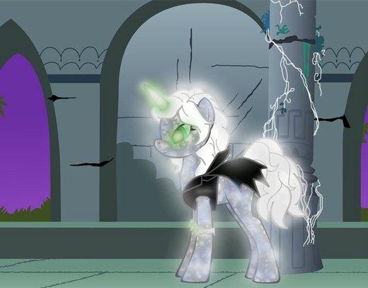 OC Necromancer Pony por Sedna93