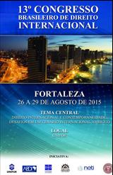 13º Congresso Brasileiro de Direito Internacional