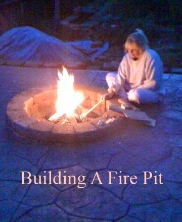 Build a Fire Pit With Your Family