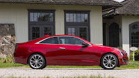 2016 New Cadillac ATS Coupe Test Drive side view