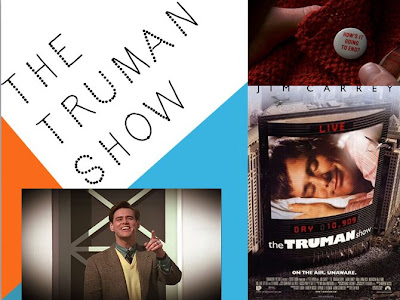 truman show theme essay Read the empire review of empire essay: the truman show find out  peter  weir's film was not alone in broaching these themes.