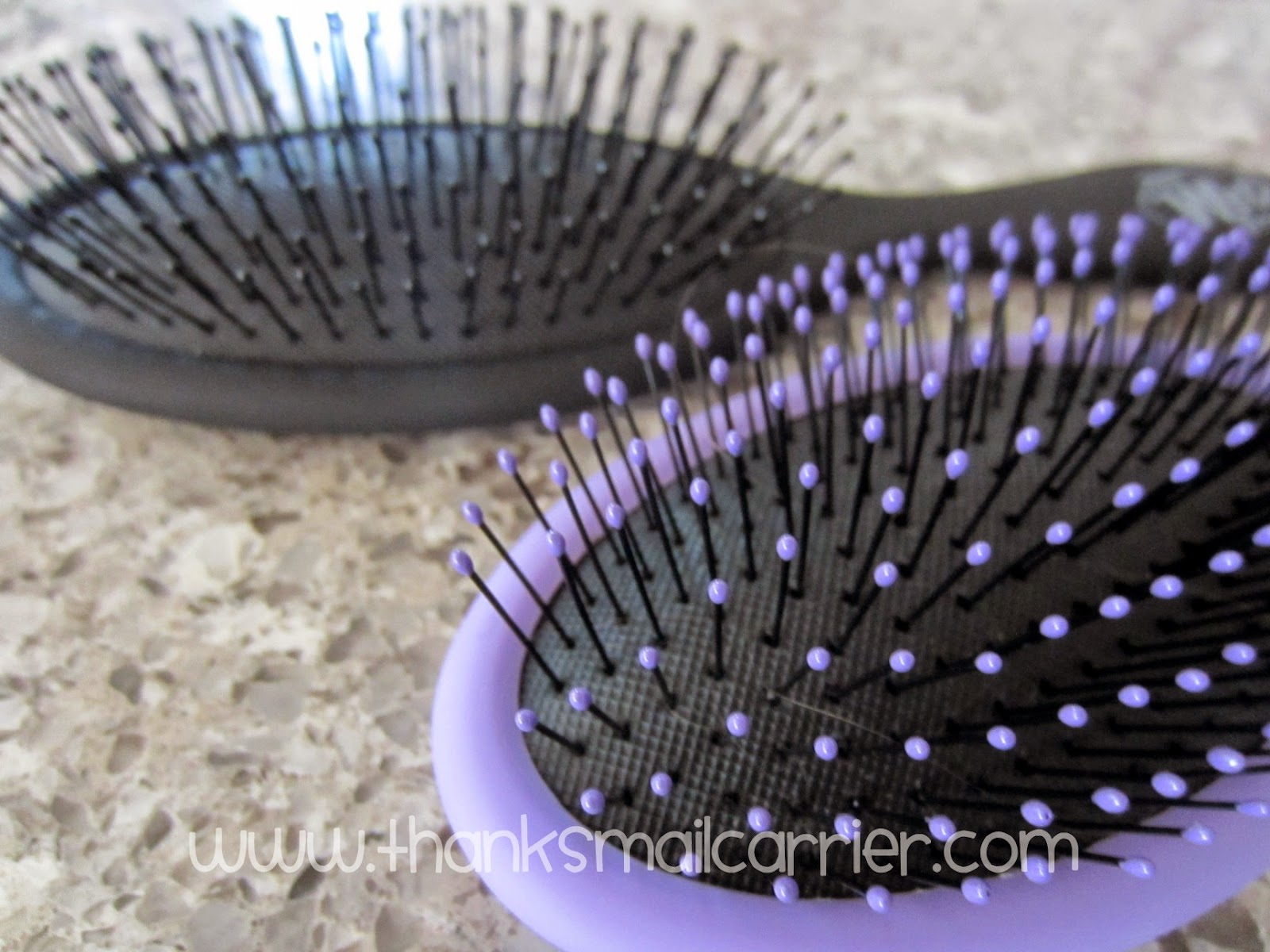 The Wet Brush bristles