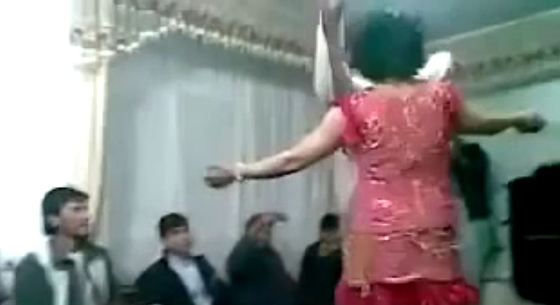 "In a ""tradition"" called bacha bazi (boy play) boys are turned into sex slaves and forced to dress as girls and dance. One US Army captain was relieved of command after he beat an Afghan militia commander who had a boy chained to his bed. (Screen capture from YouTube video)"