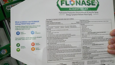 Flonase Allergy Relief Nasal Spray bundle of 3