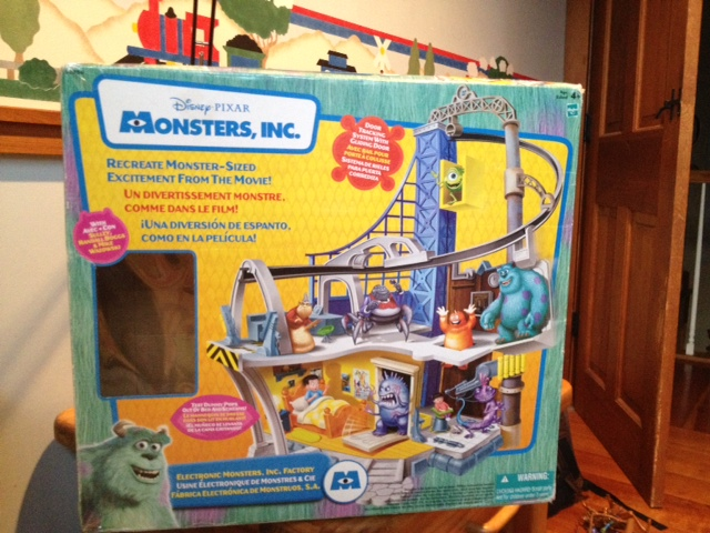 Dan The Pixar Fan Monsters Inc Electronic Factory Playset And Figure Giftpacks