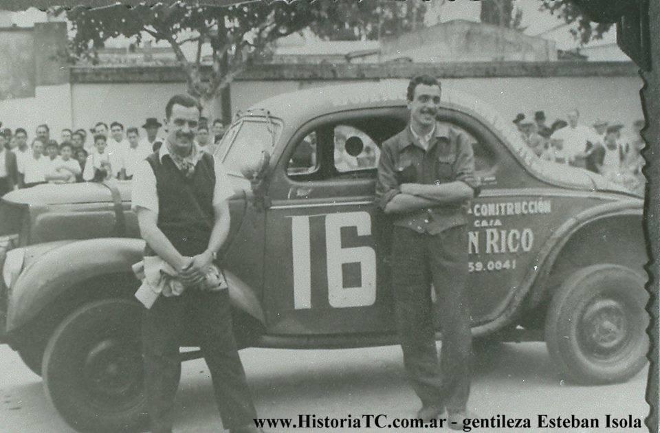 20 de Febrero, 1949 / JUAN GALVEZ GANABA POR PRIMERA VEZ EN TC
