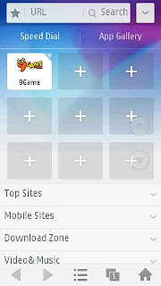 UCWeb Browser version 9.0.1.319