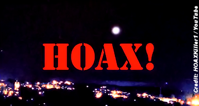 UFO Releasing Glowing Orbs Video – Labeled a Hoax