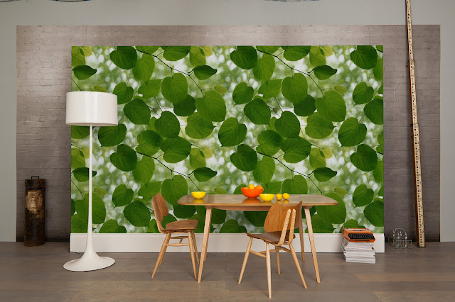 Sunlight through leaves design by Ella Doran for Surface View