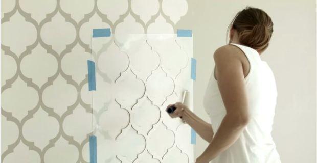Spa mente cuerpo plantillas para pintar paredes - Plantillas para paredes ...