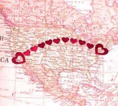 海外の彼と遠距離恋愛