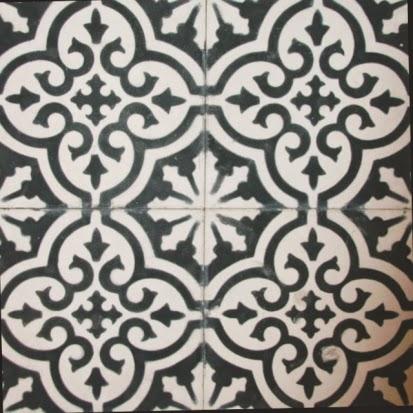 Kakeldekor marockanskt mönster