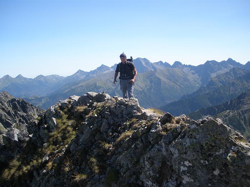 Szczyt Pośredniego Granata (2234 m n.p.m.).