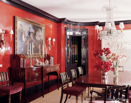 Eye For Design Decorating Walls With Lacquer For Glamorous High Gloss Interiors