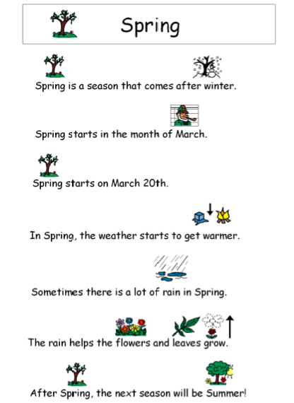 Autism Tank: March Story and Comprehension