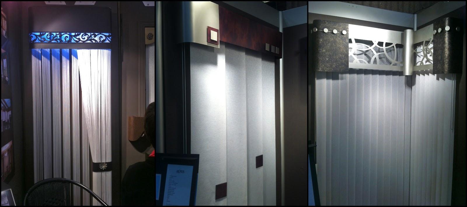 Colobar peinture et d coration salon de l 39 habitation 2012 nos d coratrices y taient for Valence rideau pour cuisine