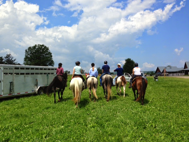 2013 Temple Hall Trail Ride...Those are some nice butts!!!