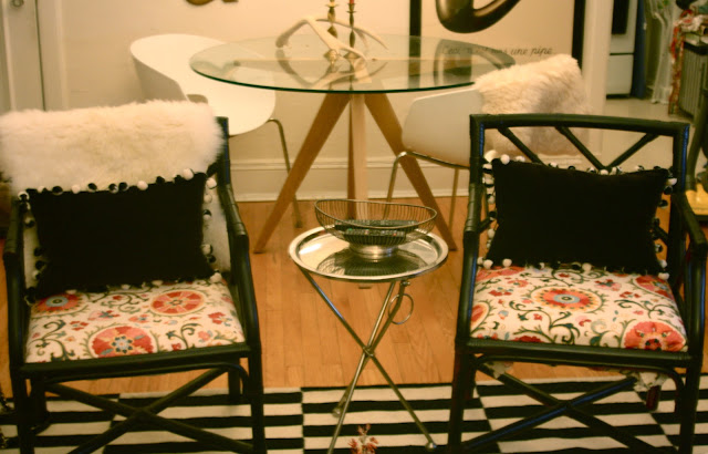 black Chippendale chairs before and after, Rebuild Health and Home