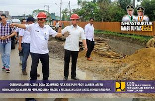 Menuju Infrastruktur Jambi Tuntas
