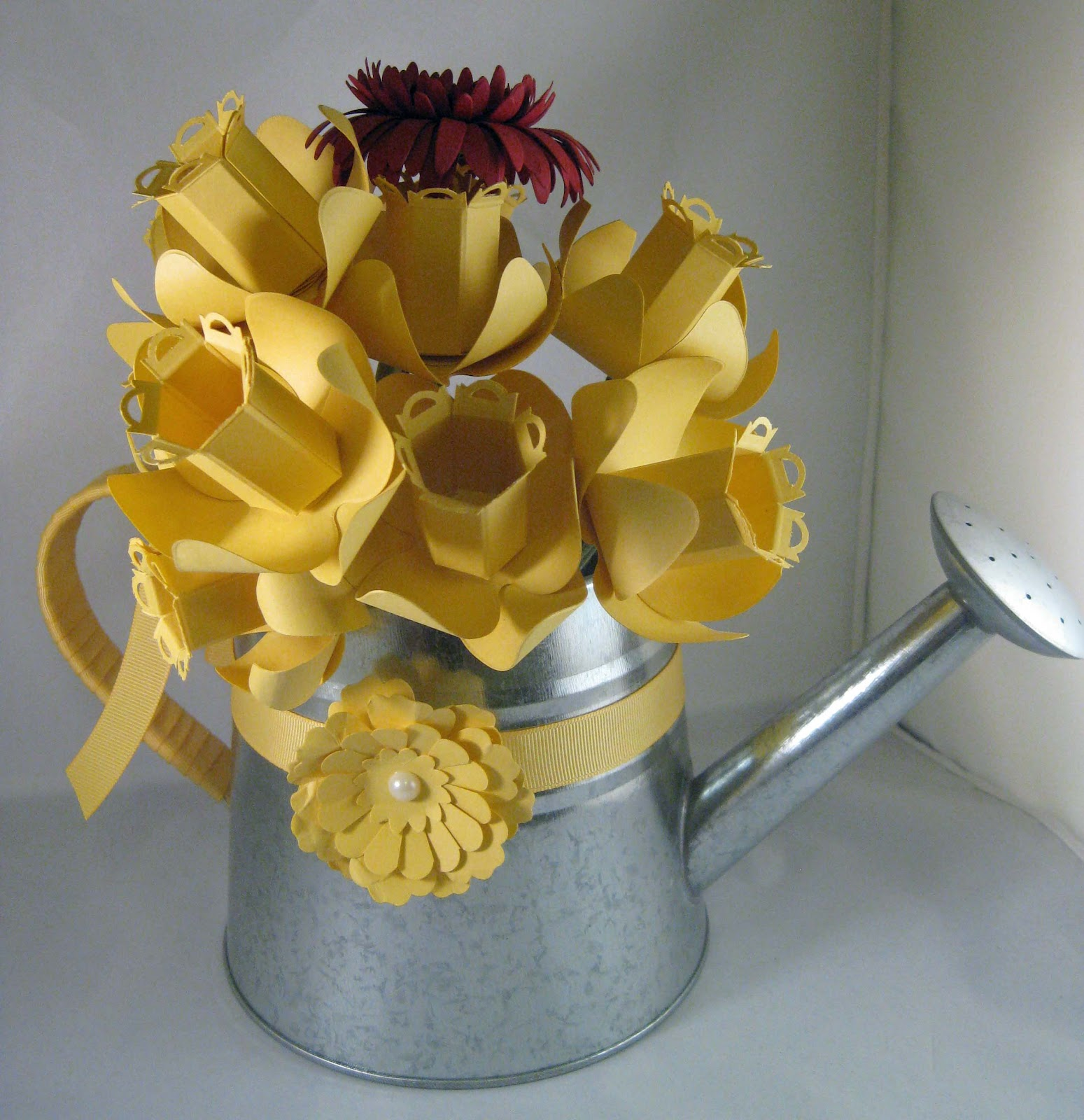 Southern Inkerbelles March Morning Class Paper Flower Arrangement