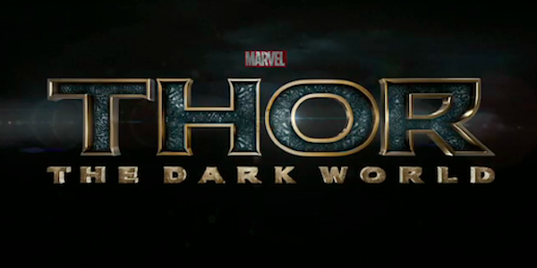 Thor the dark world opening title