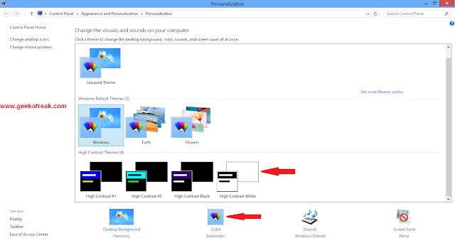 How toward Enable Aero Glass Style in Windows 8