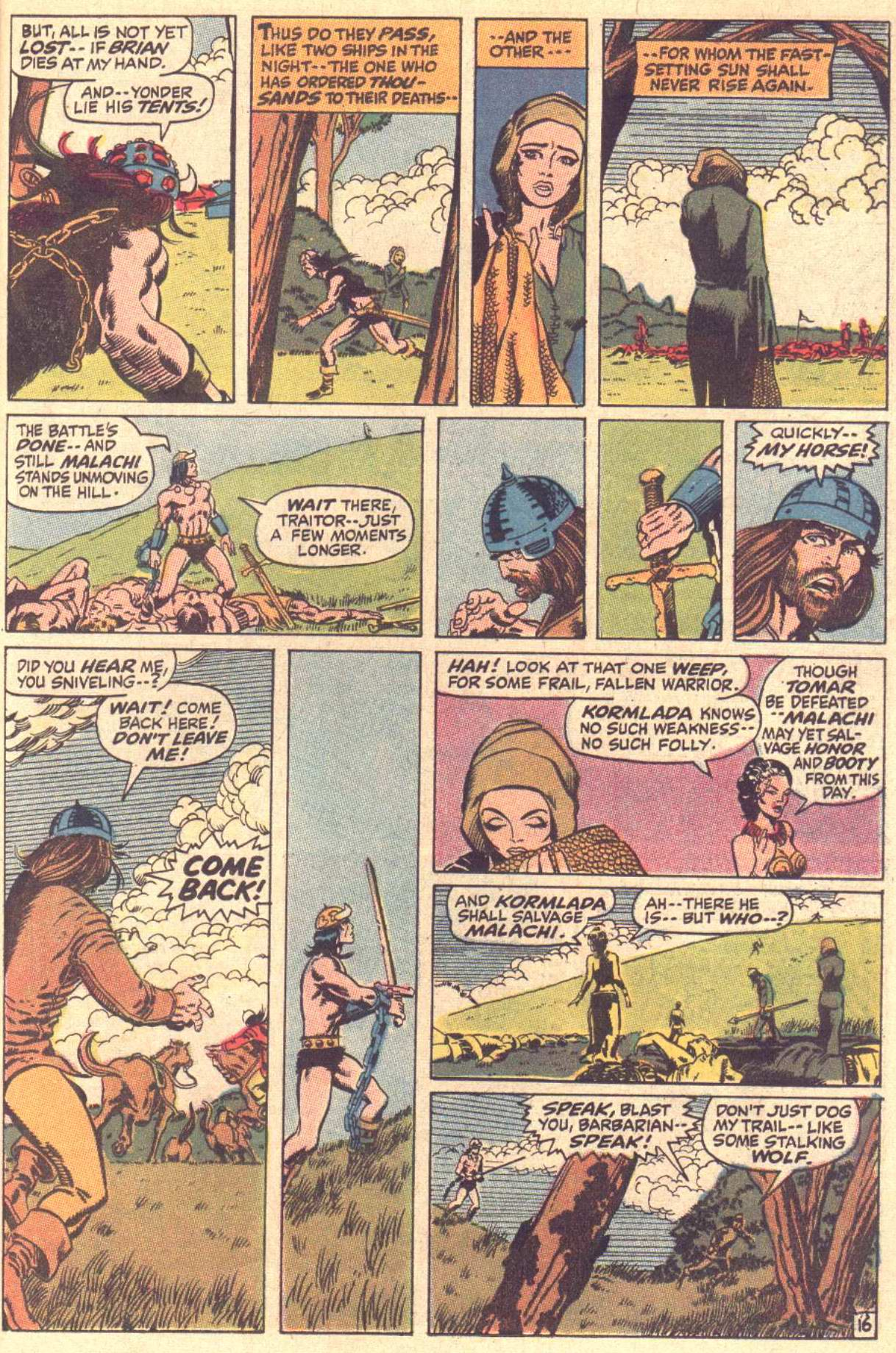 Conan the Barbarian (1970) Issue #3 #15 - English 17
