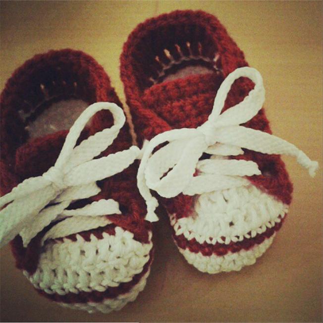 Imagenes de estilo de zapatitos de crochet - Imagui