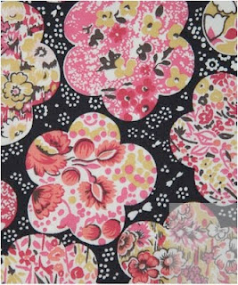 Liberty fabric Durie B