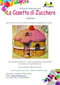 """Ludoteca """"La Casetta di Zucchero"""""""
