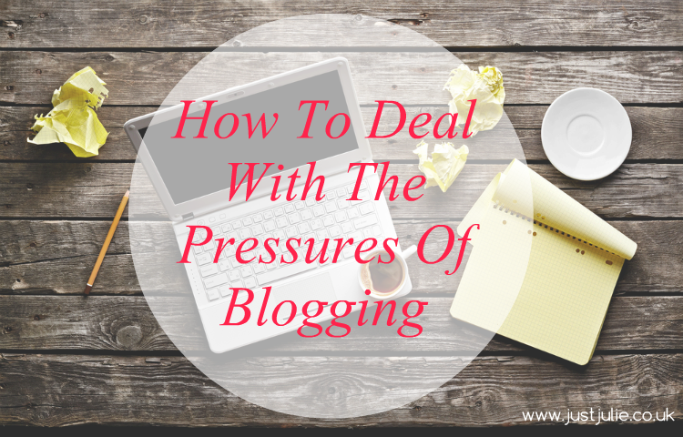How To Deal With The Pressures Of Blogging