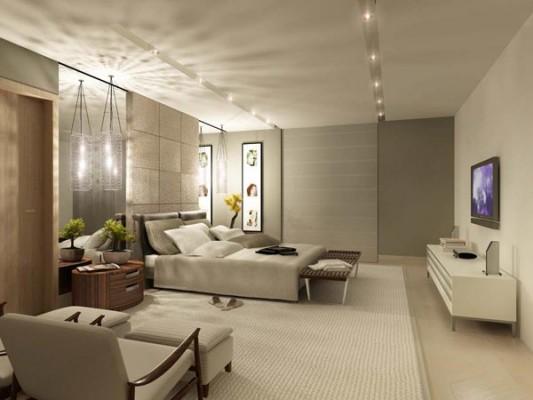 Dormitorios en colores tierra dormitorios con estilo for Color de pared para dormitorio