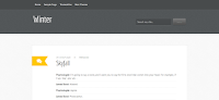 Blogger Template Design For Personal Clean Style Blogger Blog's.
