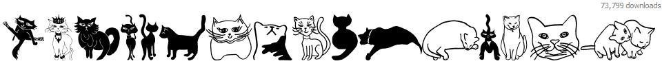 Cat Crypt Font