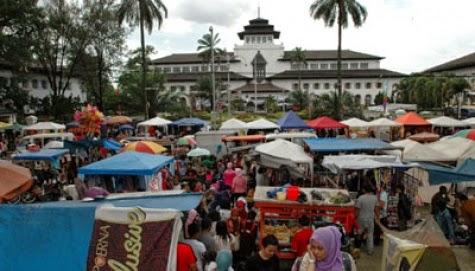 Gasibu Bandung Bebas PKL