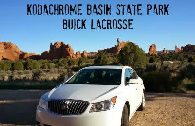 Buick LaCrosse at Kodachrome Basin State Park, Utah