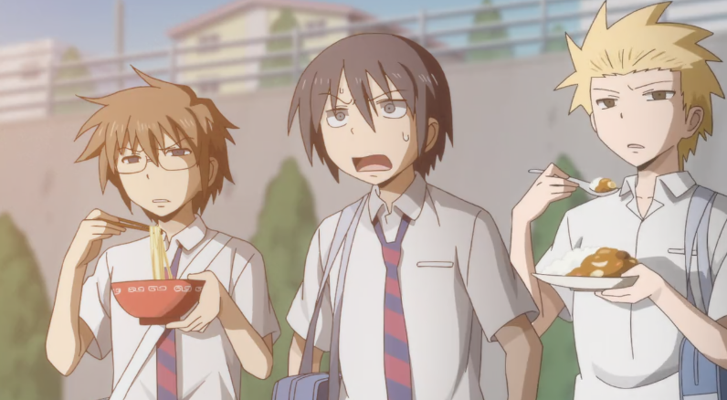 Danshi Koukousei no Nichijou BD (Episode 01 – 12) Sub Indo