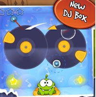 Cut The Rope DJ Box walkthrough.