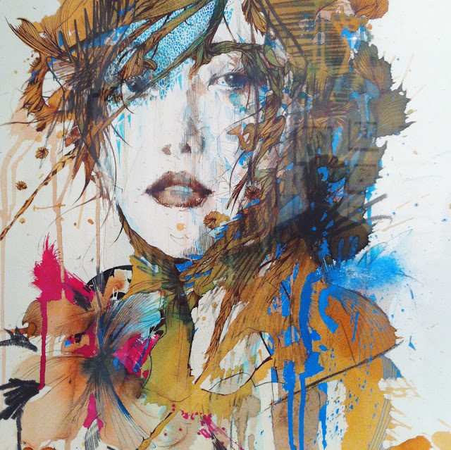 Carne Griffiths Above Second illustrations painting
