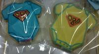 Fancy cookies baby rompers superman