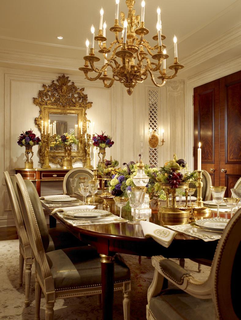 Designer spotlight scott snyder the enchanted home for Formal dining decor