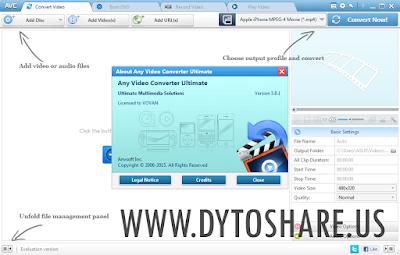 Any Video Converter Ultimate 5.8.1 Full Version