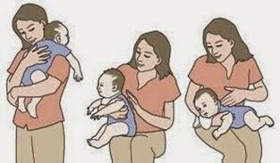 Sendawakan bayi selepas menyusu sangat lah penting kerana sejumlah kecil udara akan masuk ke dalam badan bayi dan udara ini akan terperangkap didalam perut bayi. Udara ini tidak boleh keluar dengan sendiri melainkan melalui sendawa yang akan mengeluarkan udara yang terperangkap.