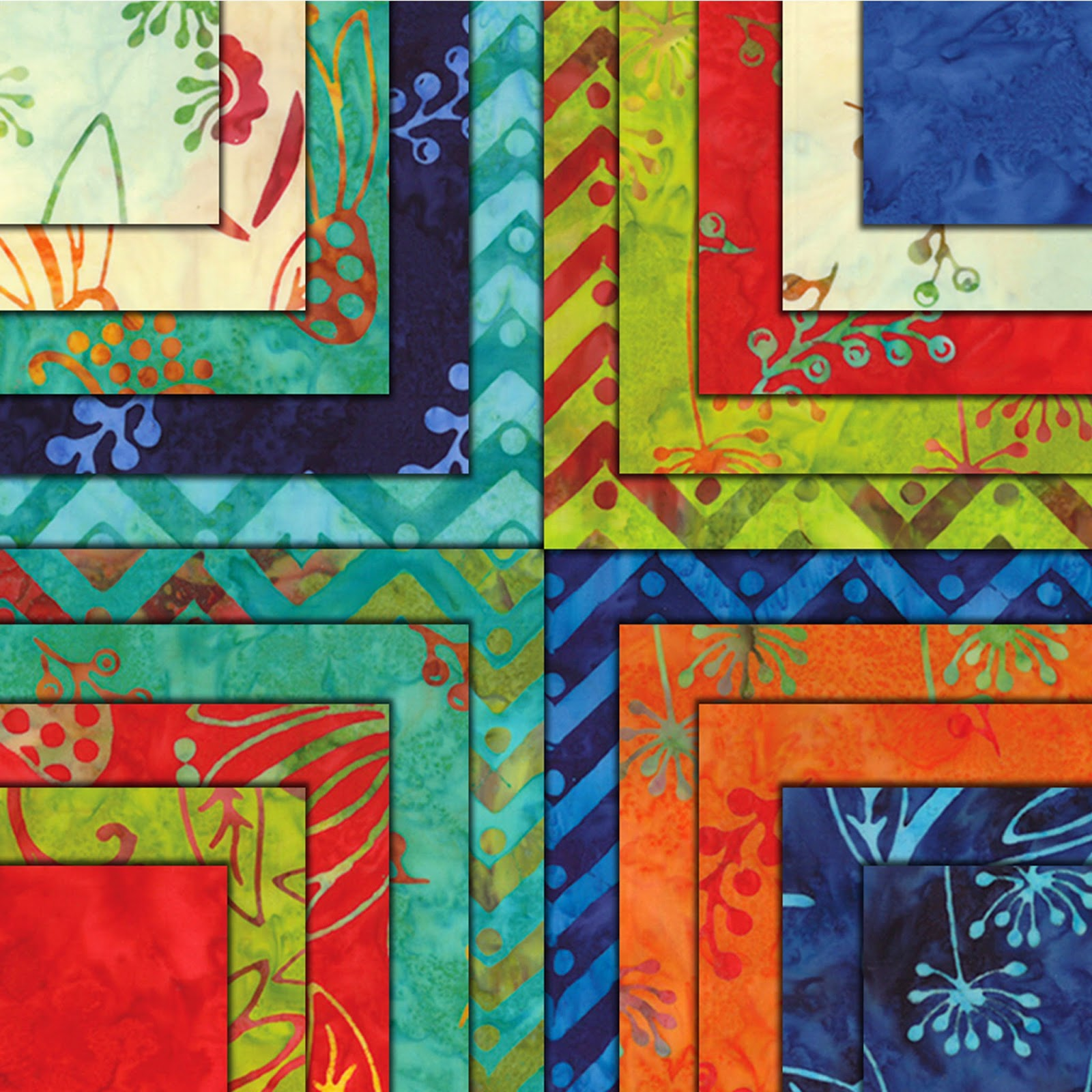 Moda ONE FOR YOU ONE FOR ME Batiks Quilt Fabric by Pat Sloan for Moda Fabrics