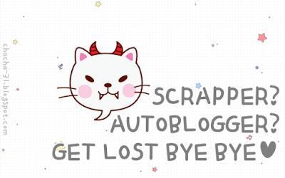 Yuk Protect Blog Kamu Dari Serangan Scrappers!